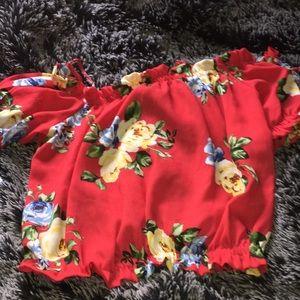 Tops - Floral shirt